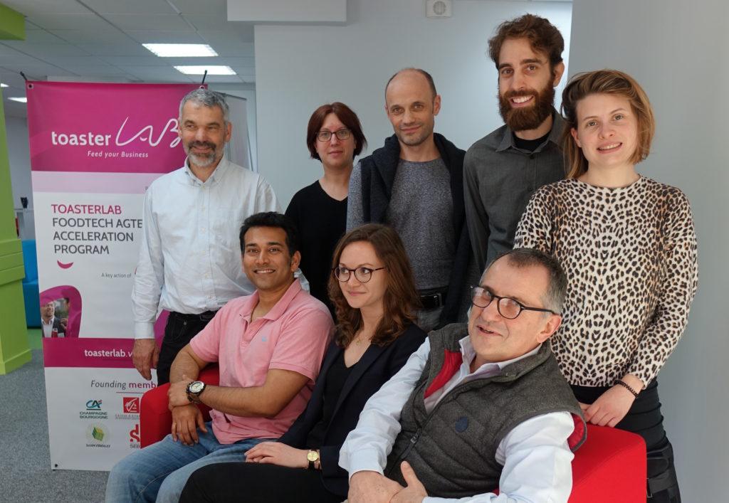 Groupe des personnes de la promotion ToasterLab 2018