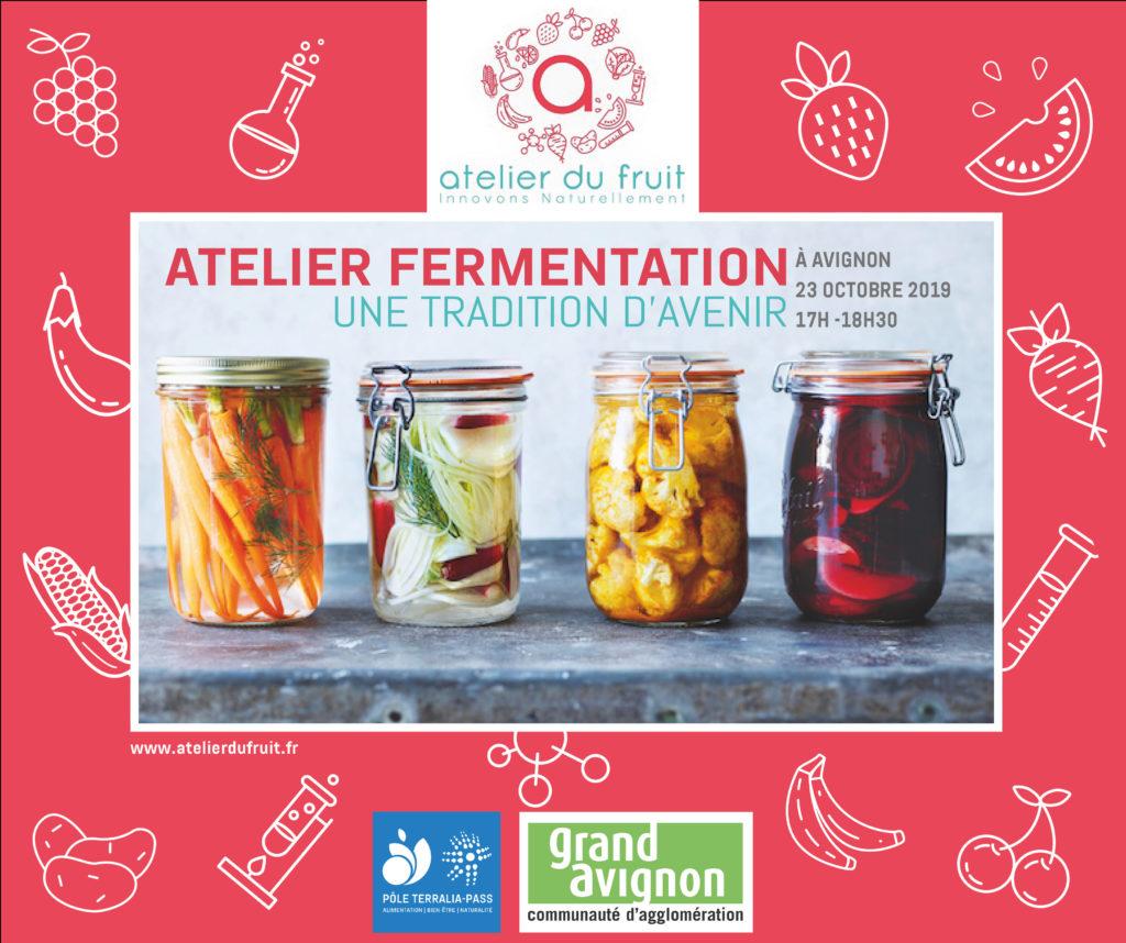 Visuel de l'atelier afterwork sur la fermentation, qui aura lieu le mercredi 23 octobre de 17h À 18h30 à Avignon, Salle René Char au GRAND AVIGNON - 84140 AVIGNON